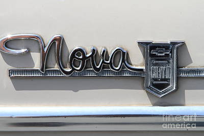 Photograph - Chevrolet Chevy Nova . 7d15312 by Wingsdomain Art and Photography