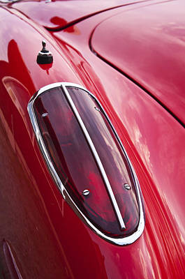 Photograph - Chevrolet Corvette by Glenn Gordon