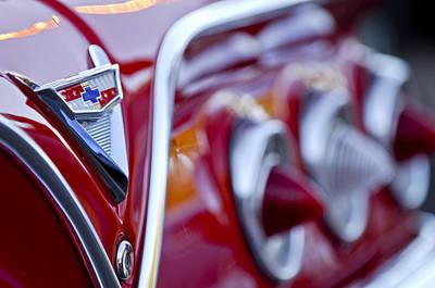 Photograph - Chevrolet Impala Emblem by Jill Reger