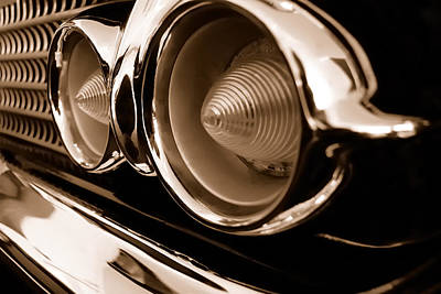 Chevrolet Nomad Delray - Turn Signals Art Print by Steven Milner