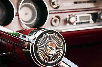 Photograph - Chevy 327 Malibu Ss by Glenn Gordon