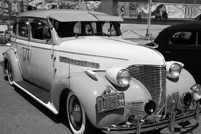 Chevy '39 Art Print