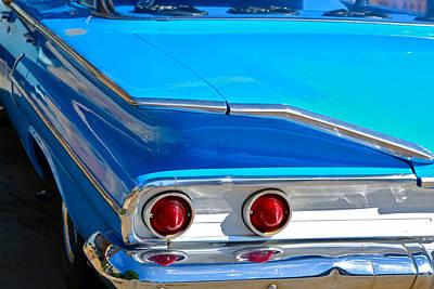 Chevy Bel Air Fin Original by Bill Owen