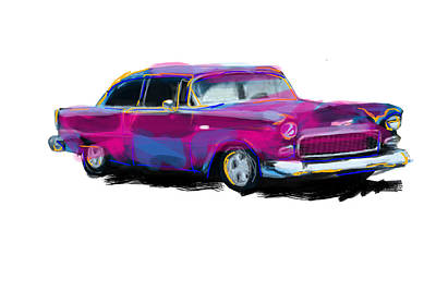 Chevy Art Print