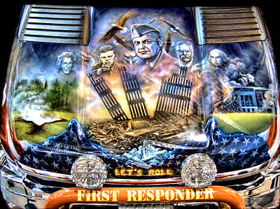 First Responders Wall Art - Photograph - Chevy First Responder 09-11 by Douglas Barnard