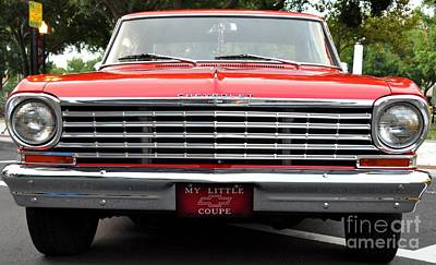 Photograph - Chevy II by John Black
