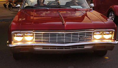 Photograph - Chevy Impala Ss by Mick Anderson