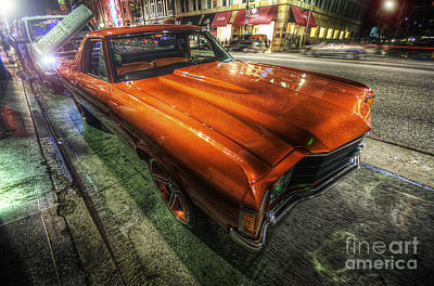 Photograph - Chevy Impala by Yhun Suarez