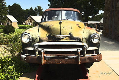 Photograph - Chevy Patina by Cheri Randolph