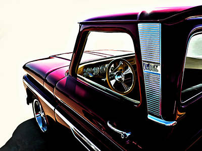 Truck Digital Art - Chevy Pickup by Douglas Pittman