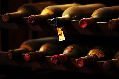 Wine Cellar Photograph - Chianti Vecchio by John Galbo