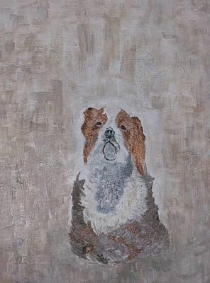 Chiari Dog Art Print by Roy Penny