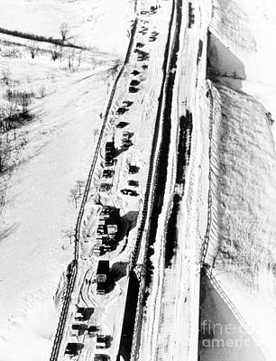 Chicago Blizzard, 1967 Print by Science Source