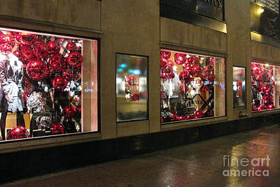 Photograph - Chicago Decorated In Red by Ausra Huntington nee Paulauskaite