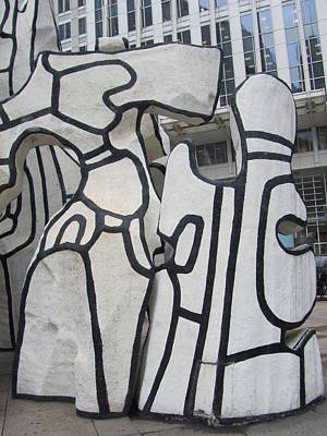 Photograph - Chicago Dubuffet-2 by Todd Sherlock