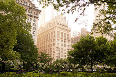 Photograph - Chicago Garden by Frank Winters
