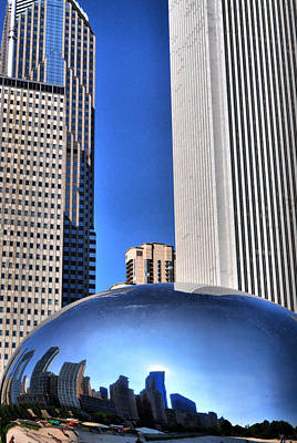Photograph - Chicago In A Bubble by Emily Stauring