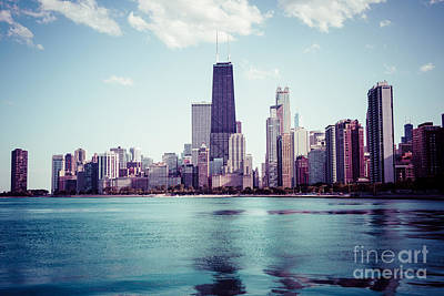 Chicago Instagram High Resolution Picture Print by Paul Velgos