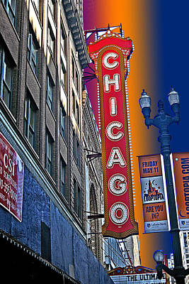 Photograph - Chicago Lights by Marie Morrisroe