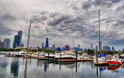 Photograph - Chicago N Sails by Emily Stauring