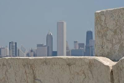 Chicago Art Print by Odd Jeppesen