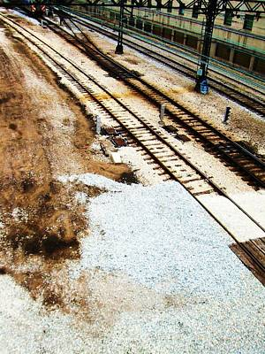 Photograph - Chicago Rails by Todd Sherlock