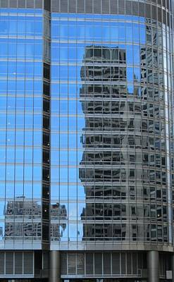 Photograph - Chicago Reflection-2 by Todd Sherlock