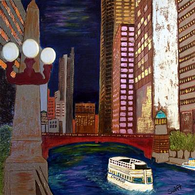 Chicago River Art Print by Char Swift