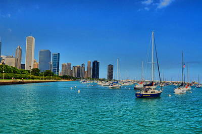 Photograph - Chicago Sail by Emily Stauring