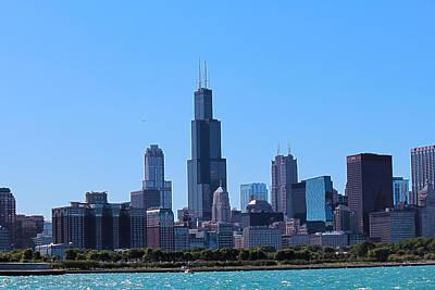 Chicago Skyline Art Print by Peter Ciro