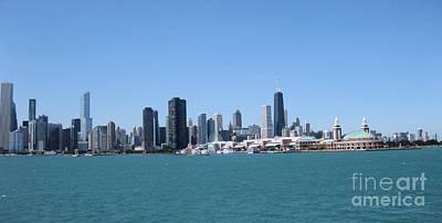Photograph - Chicago Skyline by Sonia Flores Ruiz