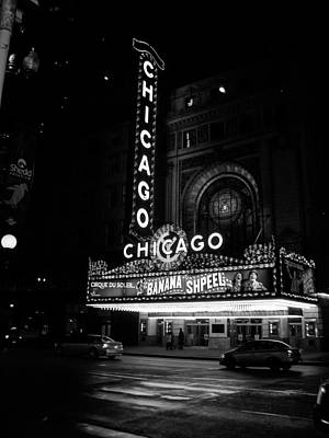 Photograph - Chicago Theater by Vintage Pix