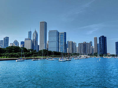 Chicago Photograph - Chicago Tm 028 by Lance Vaughn