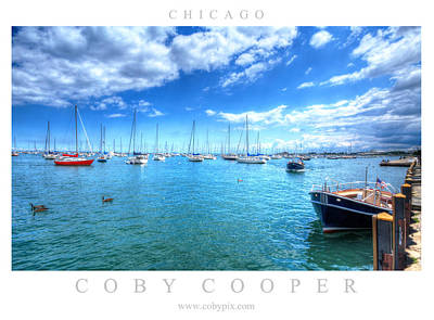 Photograph - Chicago Waterfront by Coby Cooper