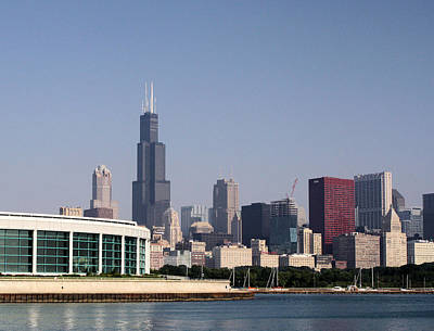 Photograph - Chicago Waterfront by Ely Arsha