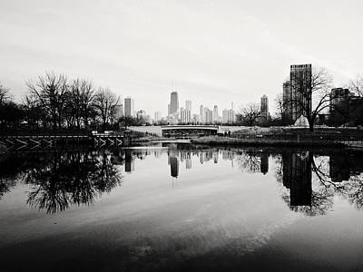 Photograph - Chicago's North Pond by Laura Kinker