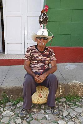 Photograph - Chicken Man by Cheri Randolph