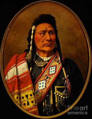Chief Joseph Painting - Chief Joseph by Pg Reproductions