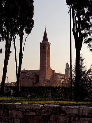 Photograph - Chiesa Di Santa Anastasia by Keith Stokes