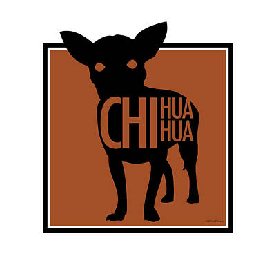 Digital Art - Chihuahua Brown by Geoff Strehlow