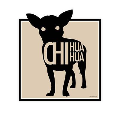 Digital Art - Chihuahua Tan by Geoff Strehlow