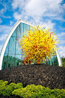 Photograph - Chihuly Garden And Glass by Kimberly Deverell