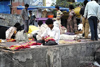 Child Labor In India Art Print by Sumit Mehndiratta