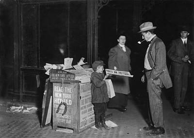 Child Labor, Jerald Schaitberger Of 416 Art Print