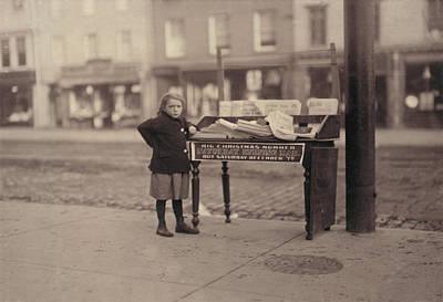 Child Labor, Little Girl, Apparently 6 Art Print by Everett