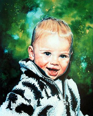 Child Portrait Art Print