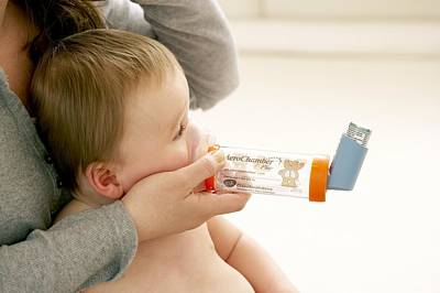Spacers Photograph - Childhood Asthma by Ruth Jenkinson