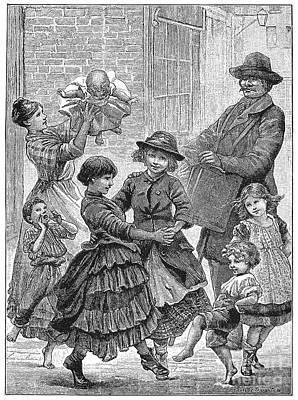 Children Dancing Art Print by Granger