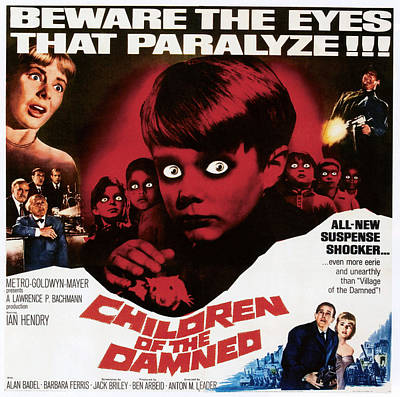 1963 Movies Photograph - Children Of The Damned, 1963 by Everett
