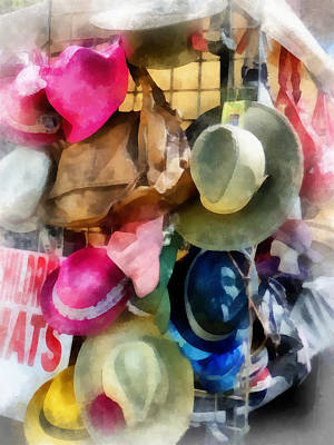 Photograph - Children's Hats by Susan Savad